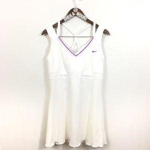 Nike | White Tennis Court Dri Fit Dress